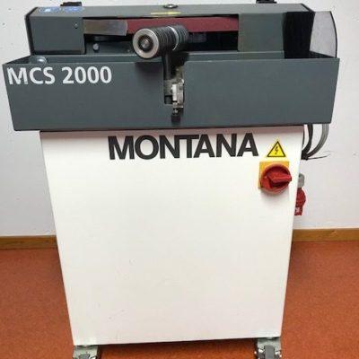 MCS2000, kantslip på hjul
