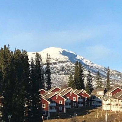 Vacker utsikt över Åreskutan
