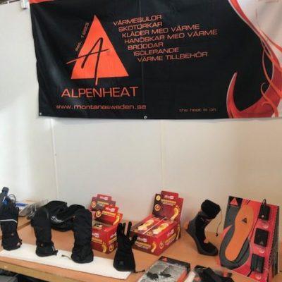 Delar av Alpenheats sortiment