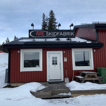 Installation Åre Skidfabrik